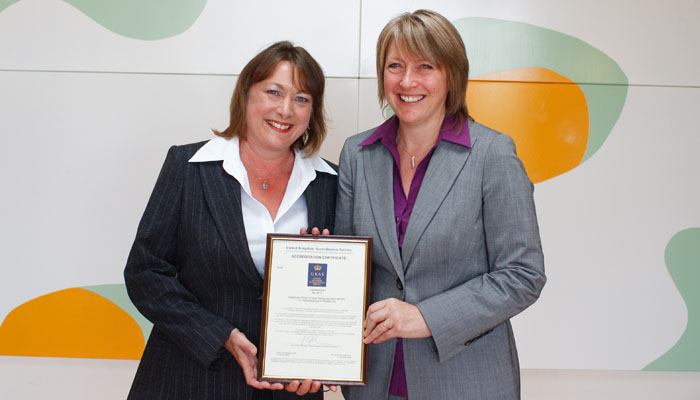 Unilabs awards presentation photograph at RIBA