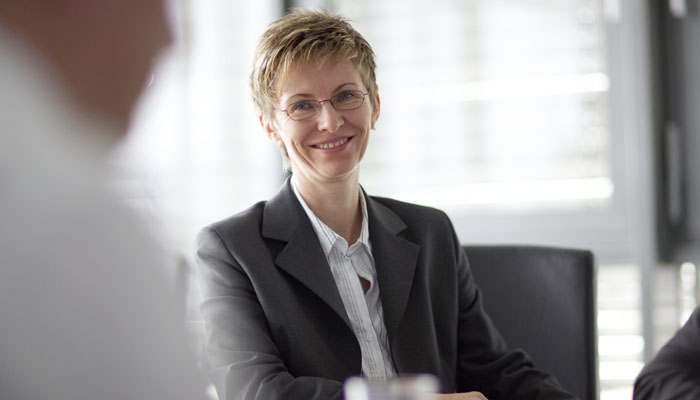 Portrait photograph of manager at Ixetic in Germany