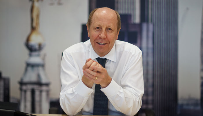 Business portrait of Clive Tobin, Chief Executive
