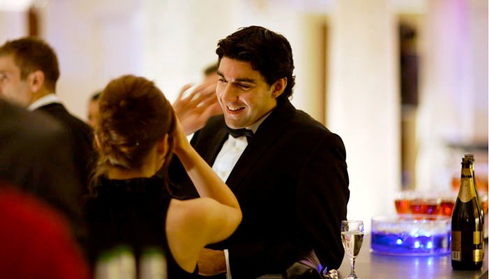 Chevron event Photography of Christmas party at Royal Naval College in Greenwich