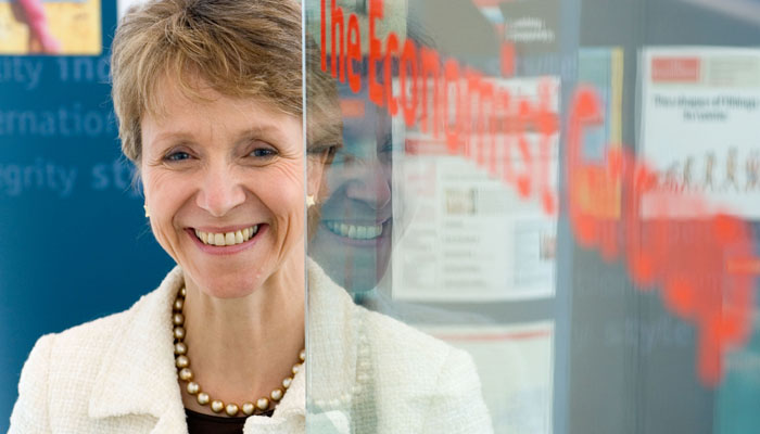 PR Photograph of Helen Alexander, Chief Executive of the Economist Group