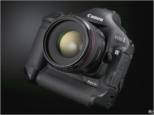 New Canon camera the 1D MK IV