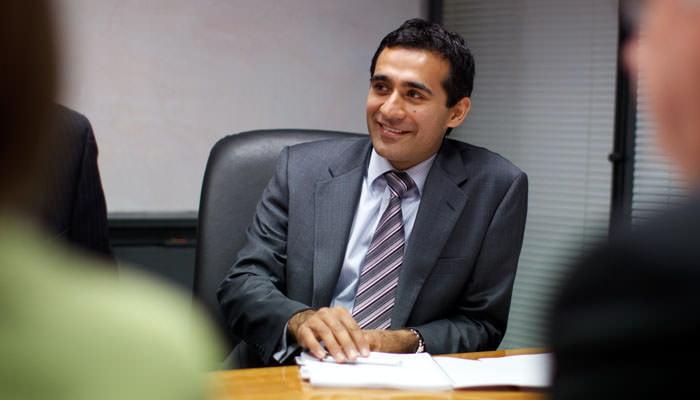 Business Portrait taken in Meeting