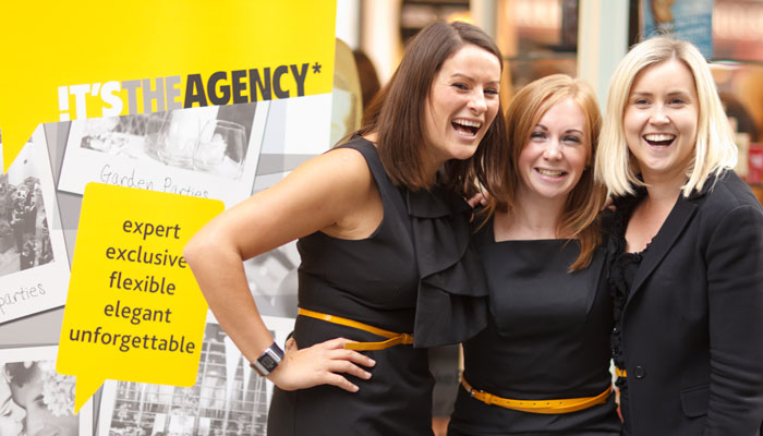 Event Photographer for Adhoc PR agency - See pic of employees ourside Cosmetics company windown in London