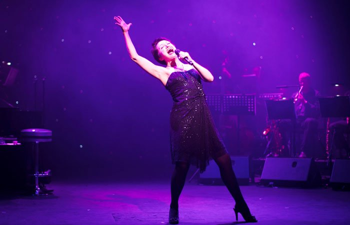 Theatre Photography of Caroline O'Connor at Garrick Theatre, London