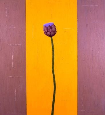 Photograph of Mark Fry's Painting - Artichoke heart