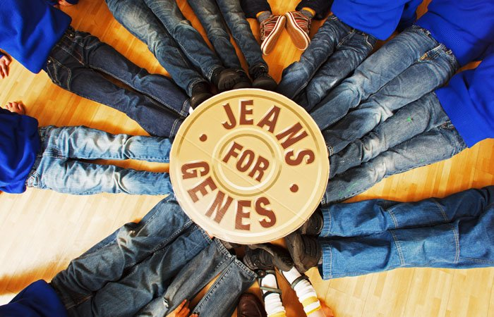 Photography on Jeans for Genes Day at Schools in London | Piranha