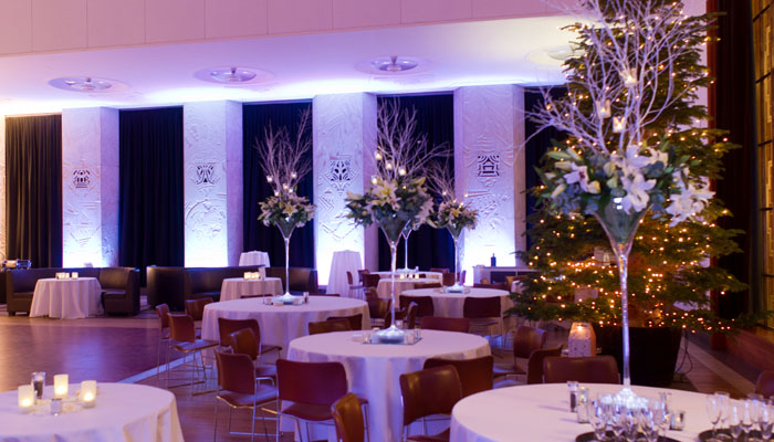 RIBA Event Photograph of Room Set up with Lighting