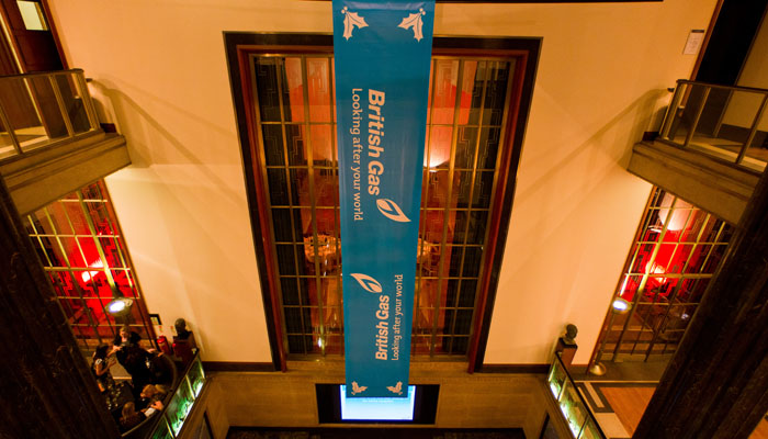 London Christmas Party Photograph for RIBA of British Gas Event