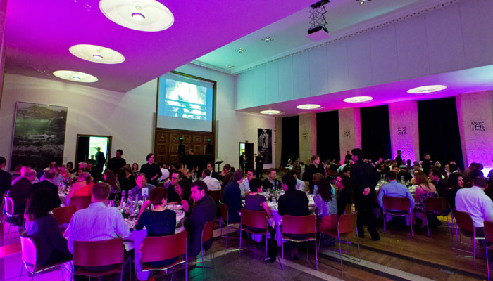 London Christmas Party Photograph for RIBA of British Gas Event - Room