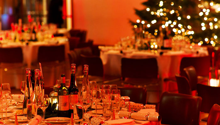 London Christmas Party Photograph for RIBA of British Gas Event - Table