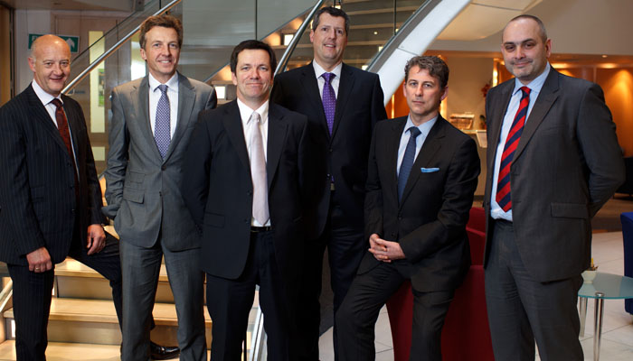 Team Photograph for JLT in London Offices