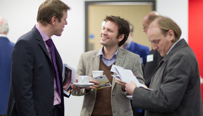 People at Event Photographed at New Oxford Academy Building