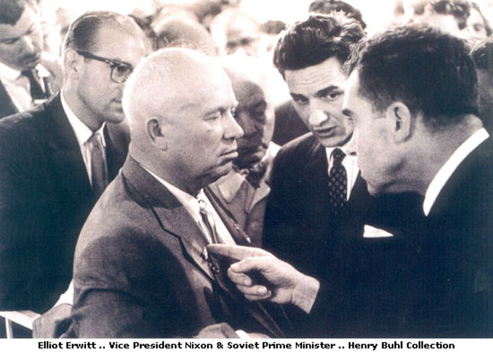 Elliott Erwitt Photograph of Nixon