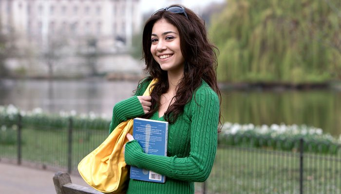 Photograph of London Business School Student in London Park
