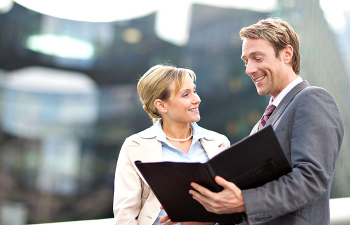 Business People Photographed in Central London