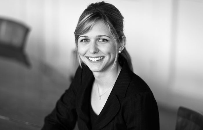 Black and White Business Portrait taken in London Offices