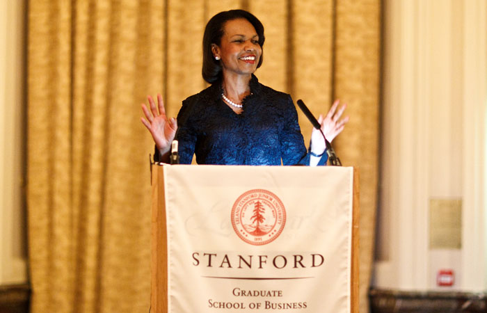 Photograph for Stanford University of Condoleezza Rice