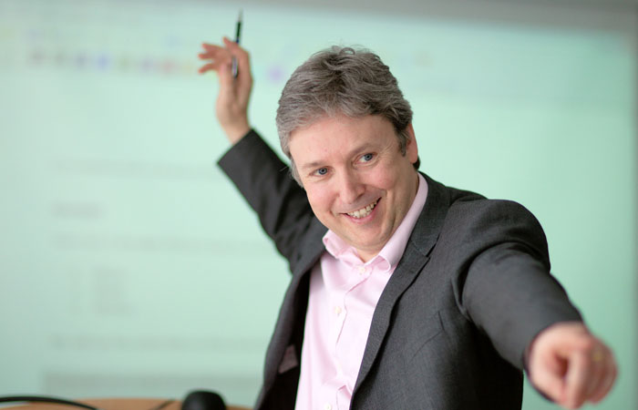 Photograph of Business School Lecturer