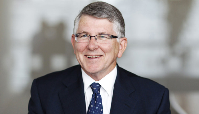 Photograph of Bank Board Member for Annual Report