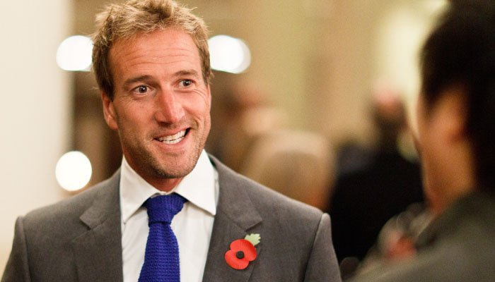 Ben Fogle Photographed at Charity Event, London