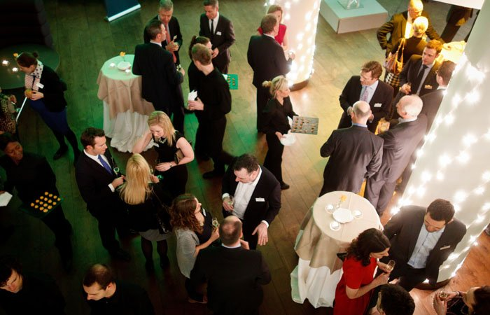 Christmas Party Photograph Guests Commonwealth Instiute, London