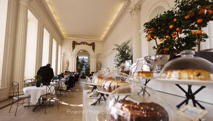 Kensington Palace, Cafe Photograph for Brochure