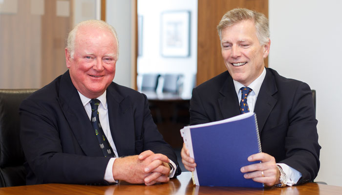 Photograph of Chairman and Chief Executive