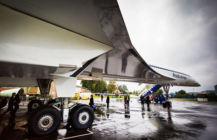 Concorde Photograph at Motor Museum