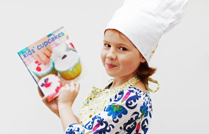 Charity Photograph Cupcake Baking