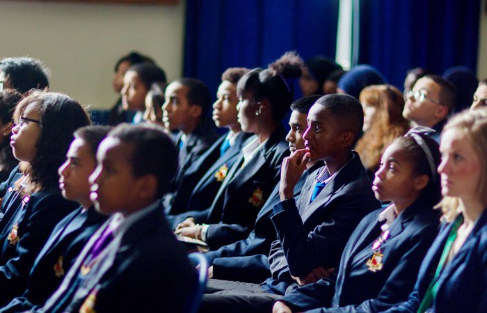 Charity Photographer London School Audience