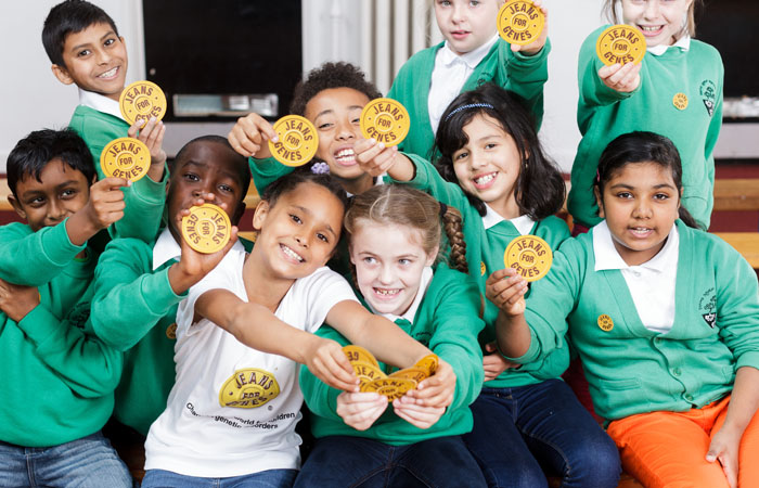 Jeans for Genes Day in London