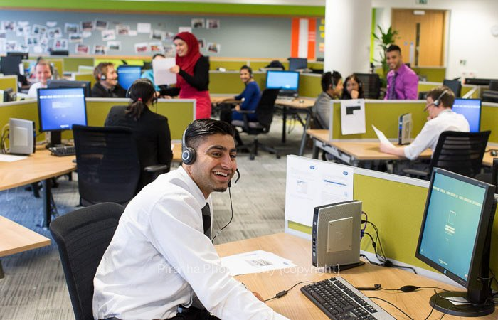 Call Centre Photography In Bradford