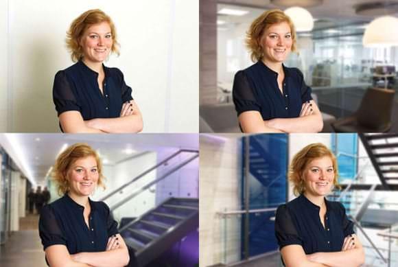 Business Portrait Change Background