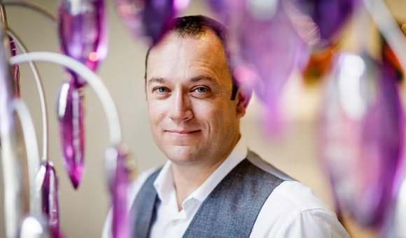Business Portraits London Glass Blowing