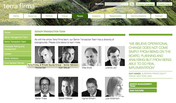 private-equity-website