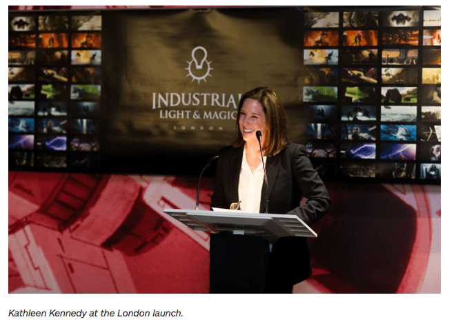 ILM new Studio Opening photograph on news website