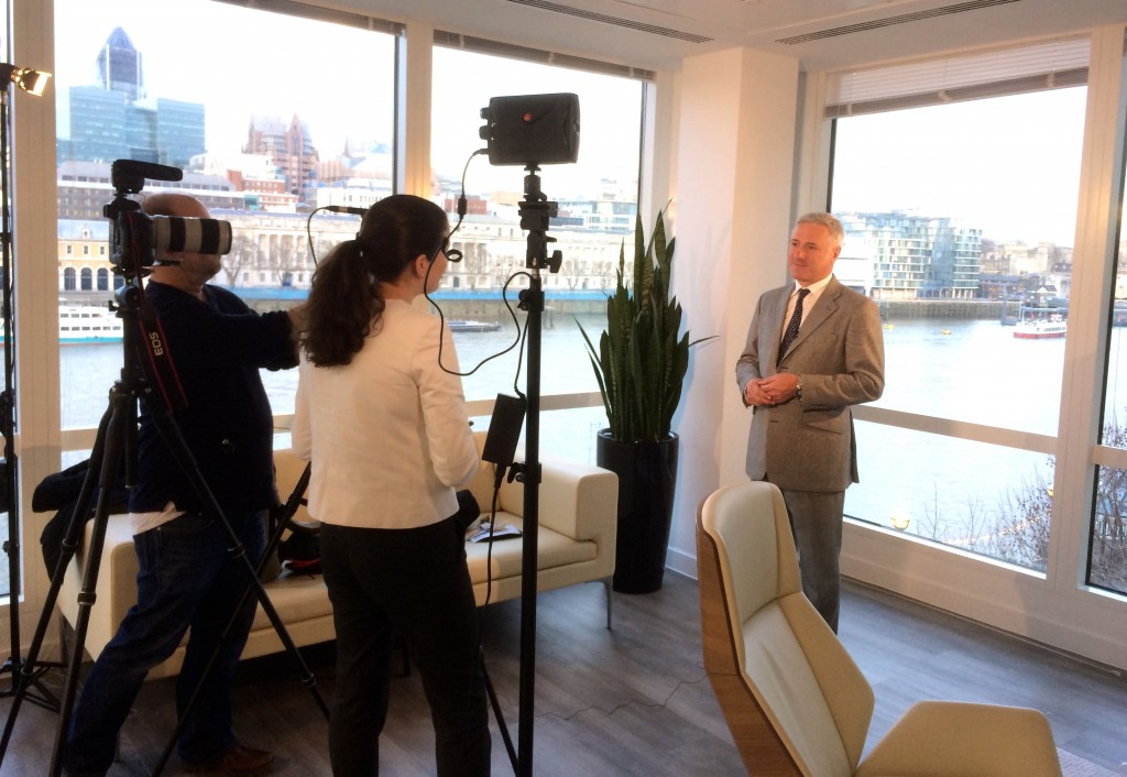 Corporate Video Filming in London Offices