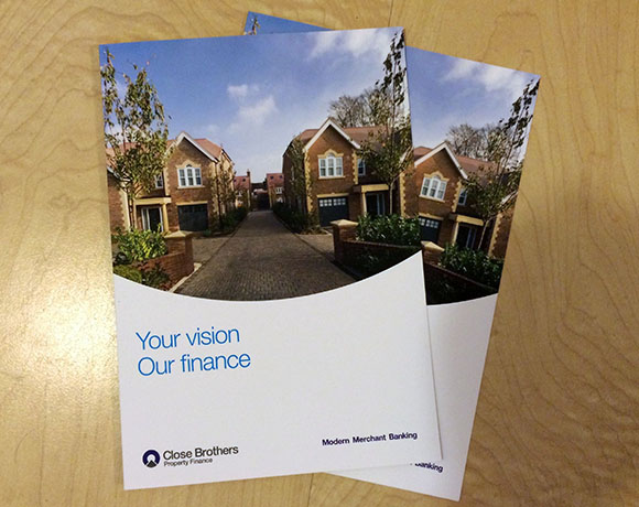 Brochure showing new developments