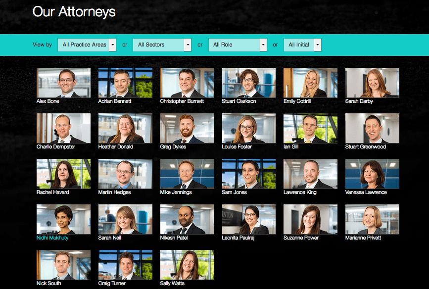 Law Firm Photography - Staff in Holborn Offices