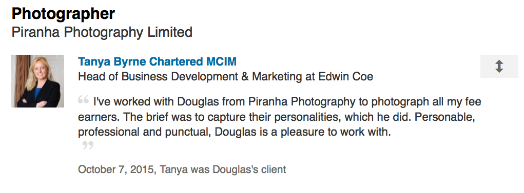 LinkedIn Review by Marketing Manager