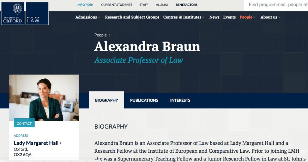 Faculty Website Portrait Photograph