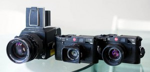Film Cameras - Hasselblad and Leicas