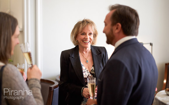 Esther Rantzen at reception