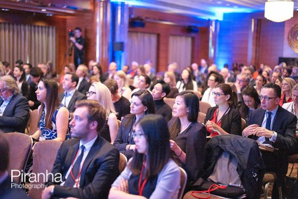 Audience at Law Conference Photographed listening to speaker