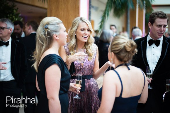 Guests mingling at Charity reception in London