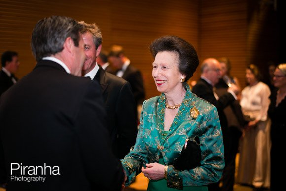 Princess Anne at Charity Event at Hurlingham Club in London