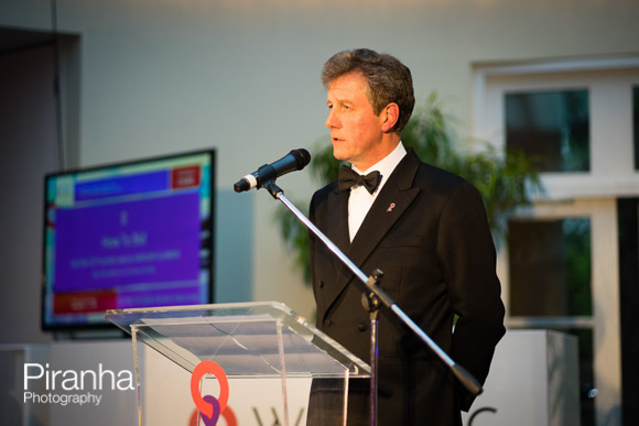Speaker at charity event - evening in London