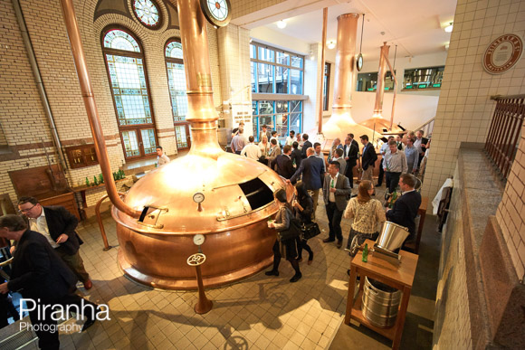 Tour of Heineken factory in Amsterdam for guests