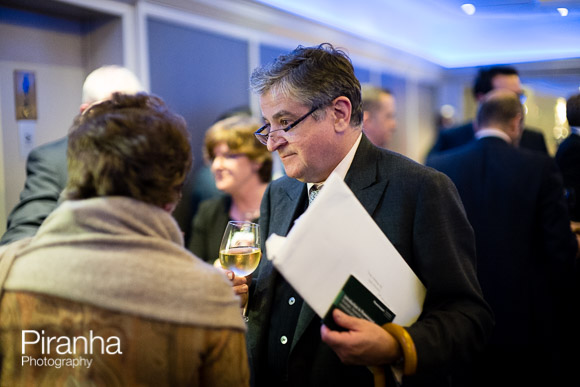 PR Event at Glazier Hall - Photography of reception before speeches